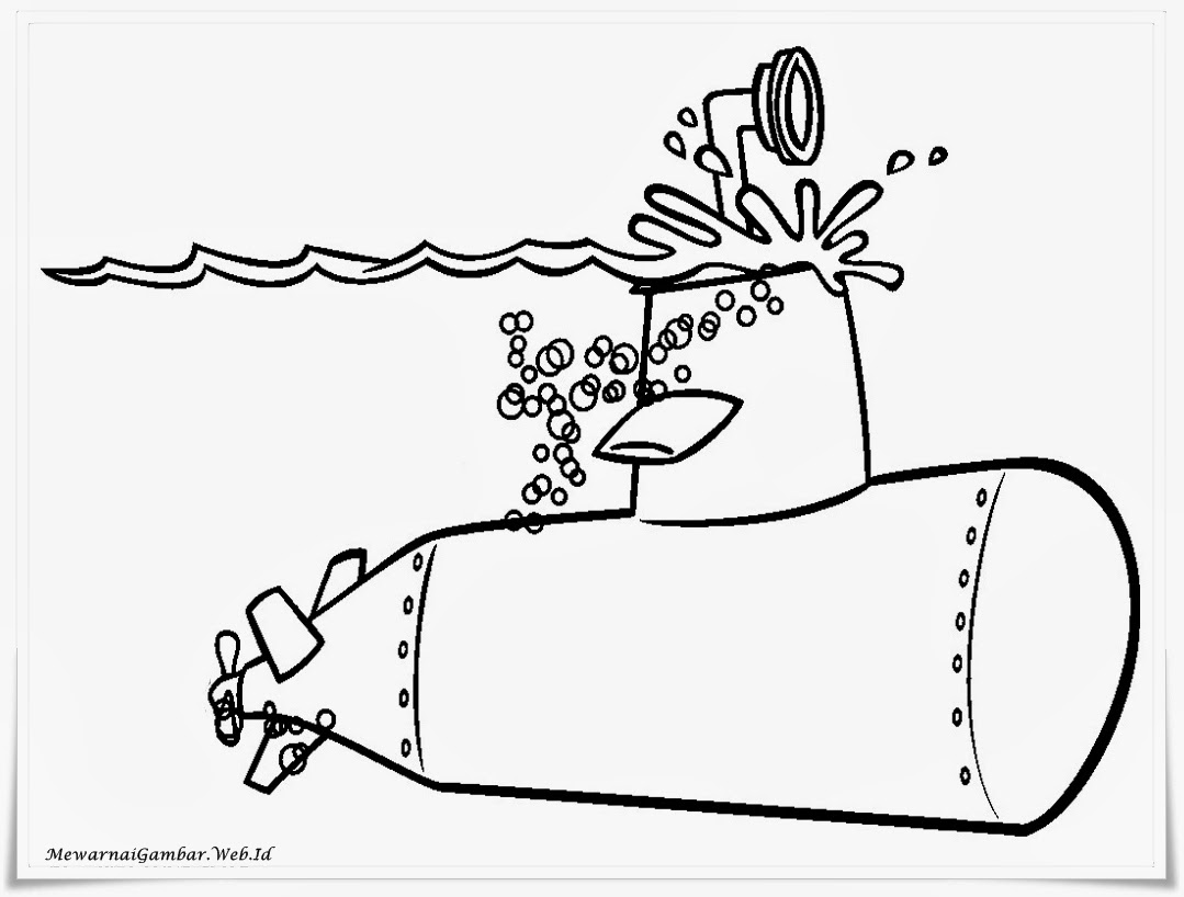 Cara Menggambar Kapal Laut