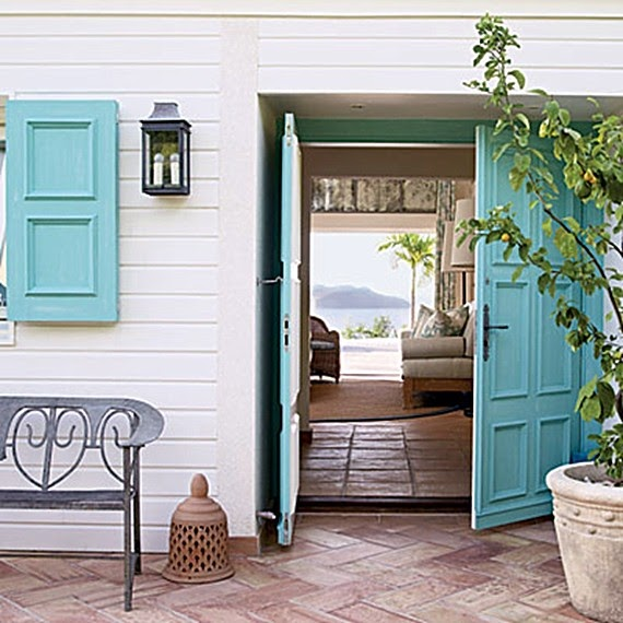 California Livin Home: Coastal Inspired Entries ~*~ A Must