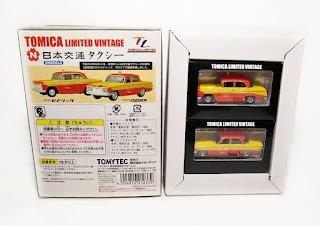 Tomica Limited Vintage  Taxi 2Models f