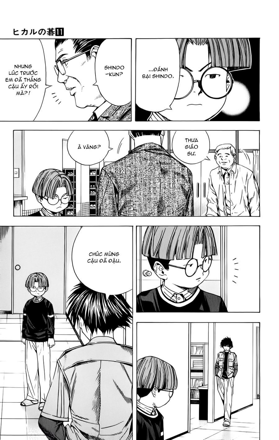Hikaru No Go hikaru no go chap 88 trang 13