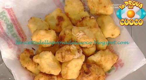 Frittelle di polenta e formaggio ricetta Persegani da Prova del Cuoco