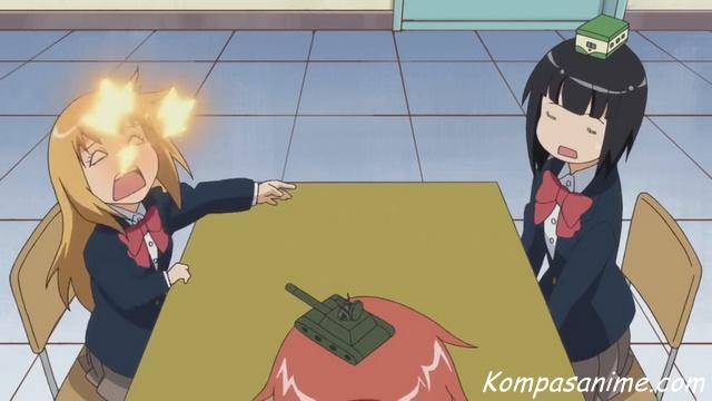 salah satu anime comedy terbaik yang mirip dengan Yuru Camp
