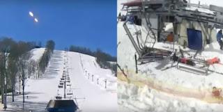 Eveniment ciudat intr-o statiune de schi din Georgia !