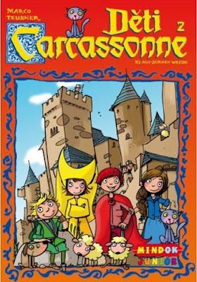 Recenze hry Děti z Carcassonne na blogu www.spoluhratky.eu
