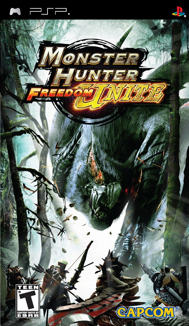 ROMs - Monster Hunter Freedom Unite (Português) - PSP Download