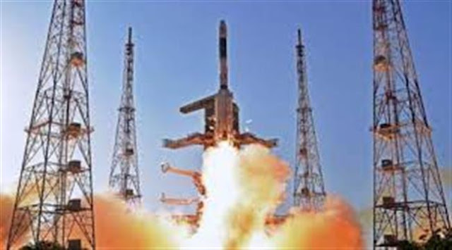 PSLV-C38 Rocket lifts off with Cartosat