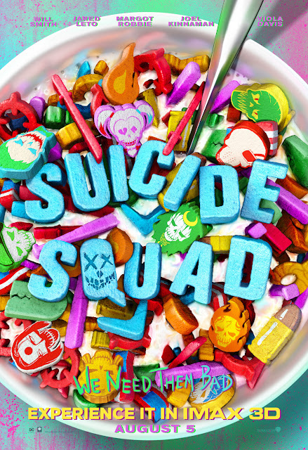 Suicide Squad Marshmallow Cereal Theatrical One Sheet Movie Poster