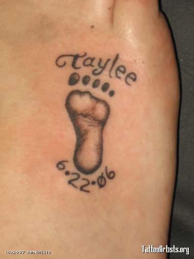 Tattoo ideas for Women: Baby Elephant Tattoo