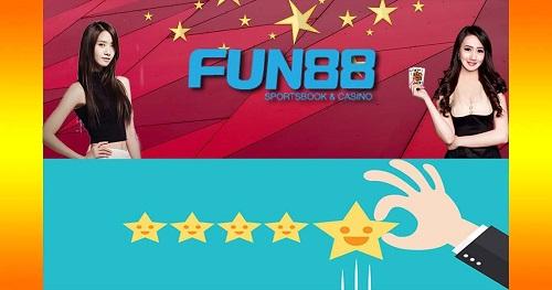 Đánh giá sòng bạc Fun88 5 sao