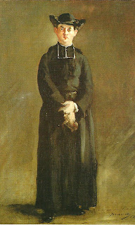 """Retrato do Abade Hurel"", Manet, no Museo Nacional de Arte Decorativo, Recoleta, Buenos Aires"