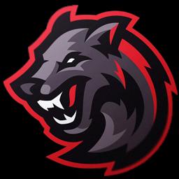 logo anjing galak