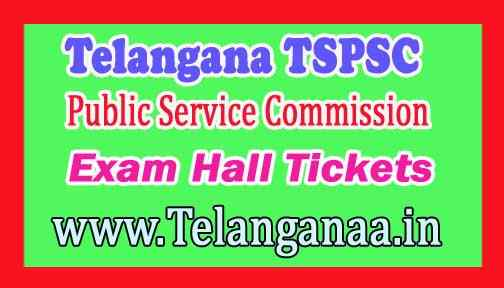 TSPSC 2019 Departmental Test Exam Hall Tickets Download
