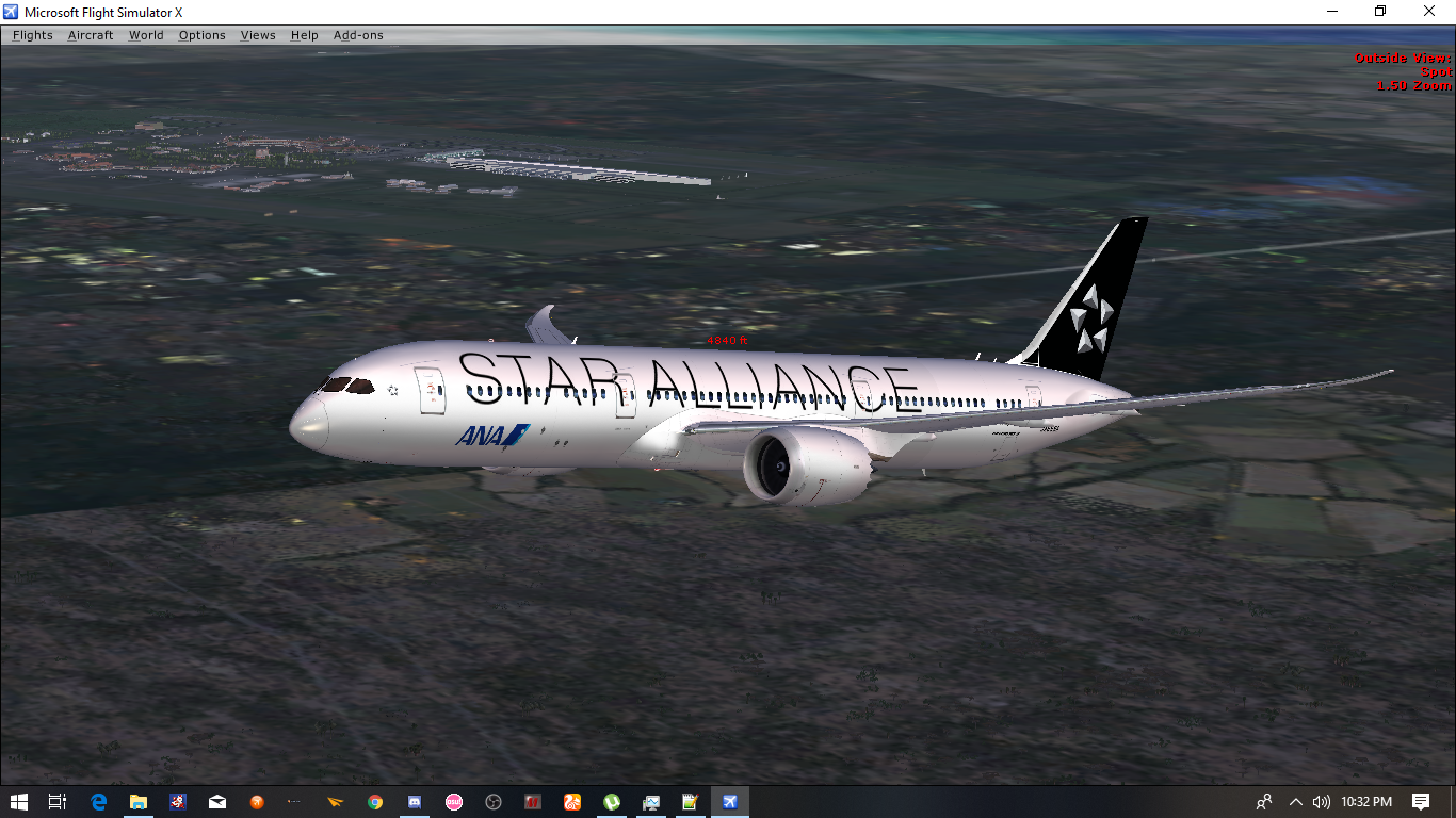 All Nippon Airways Boeing 787-9 Star Alliance Livery