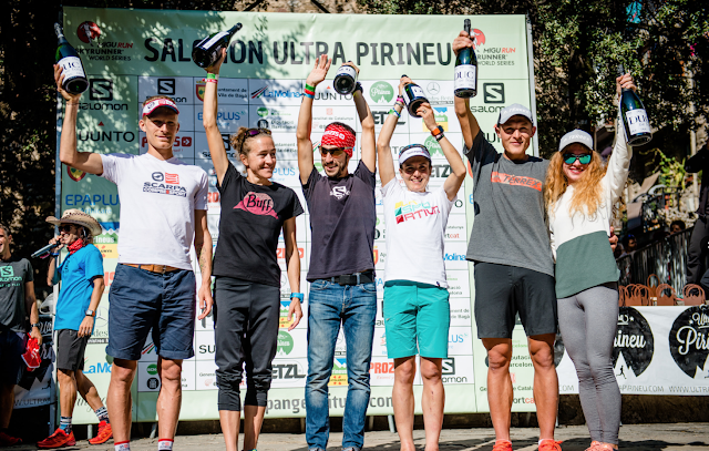 Pablo Villa y Maite Maiora vencen la Ultra Pirineu 2017