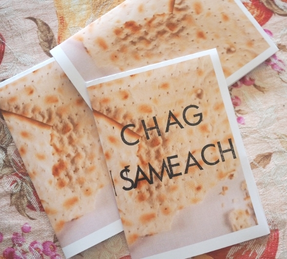 Printable Chag Sameach cards for Passover and Unleavened Bread | Land of Honey