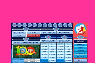 File Pendidikan Aplikasi Penilaian Kelas 6 Kurikulum 2013 Revisi 2018