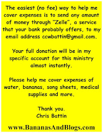 """Zelle"" is the best way to instantly donate and there is no fee involved!"