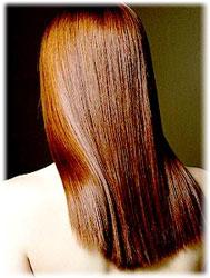блестящие красивые волосы