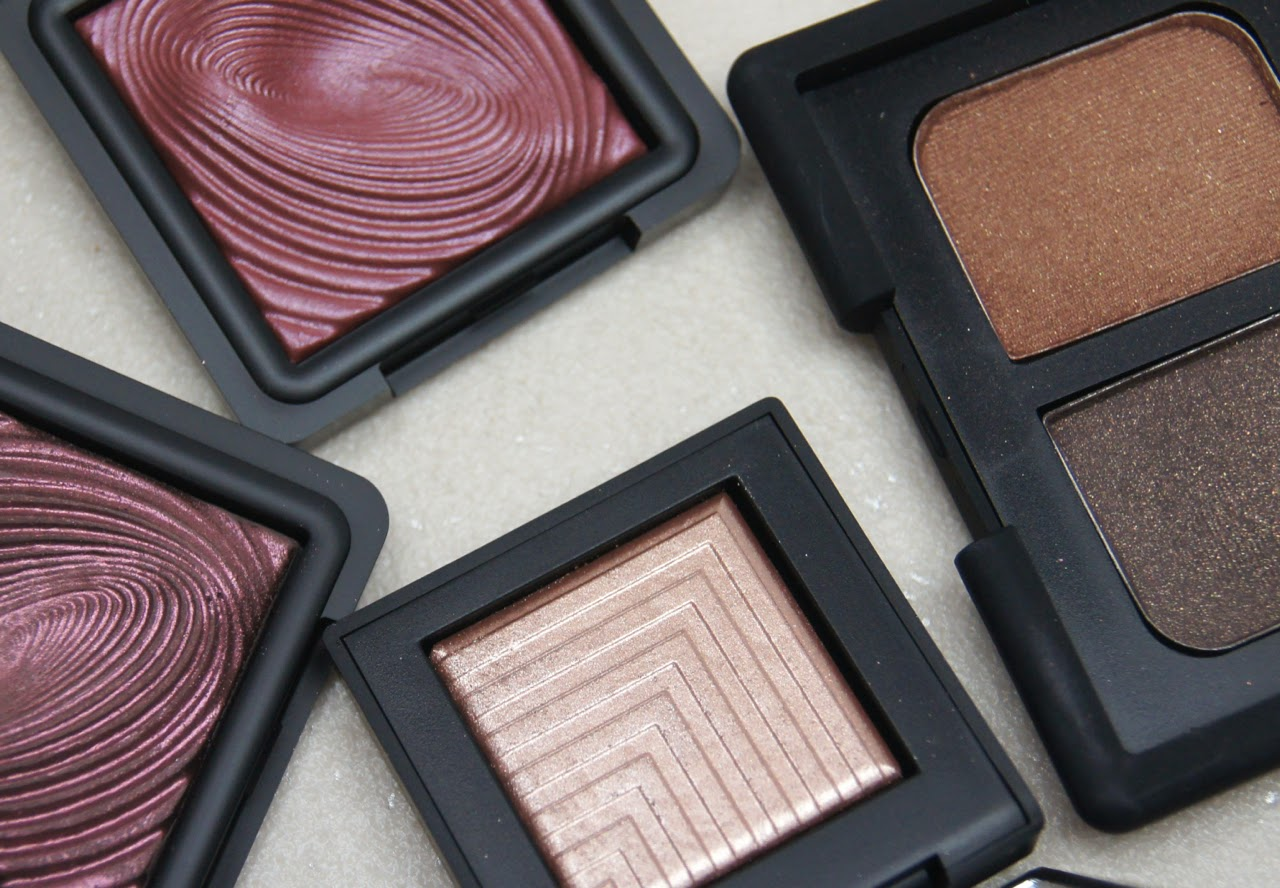 best shimmery powder eyeshadows for party season nars kiko