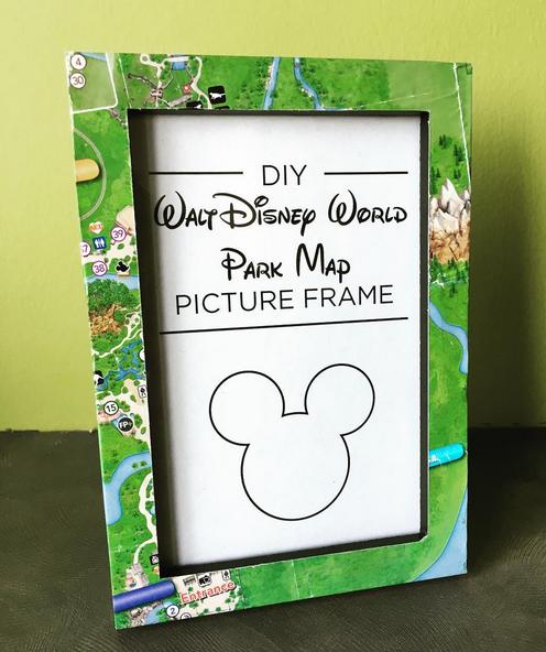 DIY Disney Park Picture Frame | Jill Sowell
