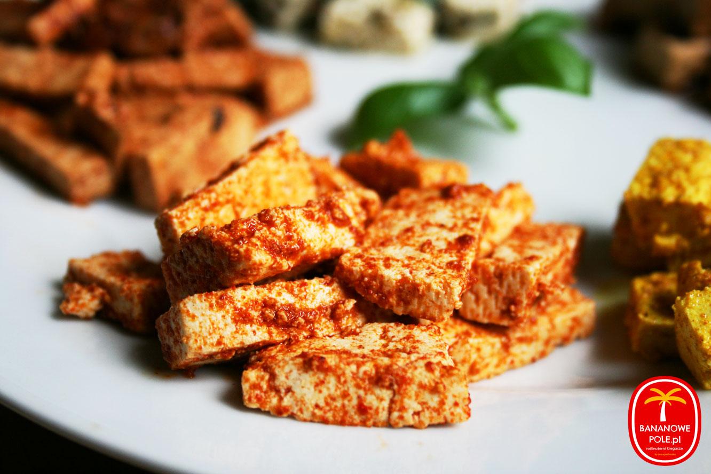 Jak zamarynować tofu? : Tofu w stylu meksykańskim