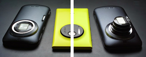 Samsung Galaxy K Zoom vs. Nokia Lumia 1020