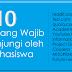 10 Situs yang harus dikunjungi dan wajib di baca oleh mahasiswa