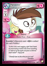 My Little Pony Pipsqueak, Trottinghamian Equestrian Odysseys CCG Card
