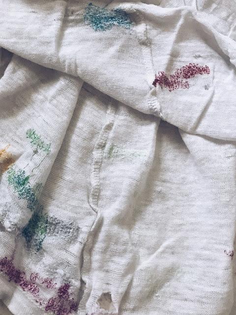 minimalistin vanhat vaatteet