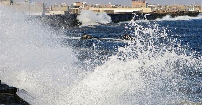 31 puertos de todo el litoral se encuentran cerrados por prevención, tras oleajes anómalos, informó la Marina de Guerra del Perú - www.marina.mil.pe