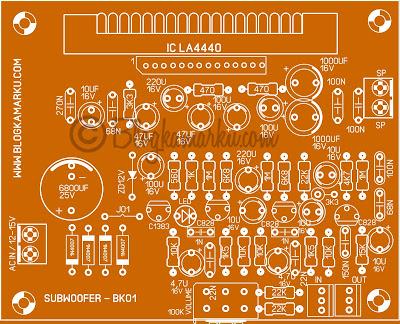 Membuat subwoofer dengan IC LA 4440