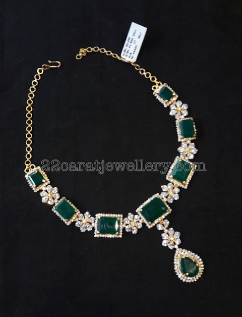 CZ Set by Sri Mahalaxmi Jewellers