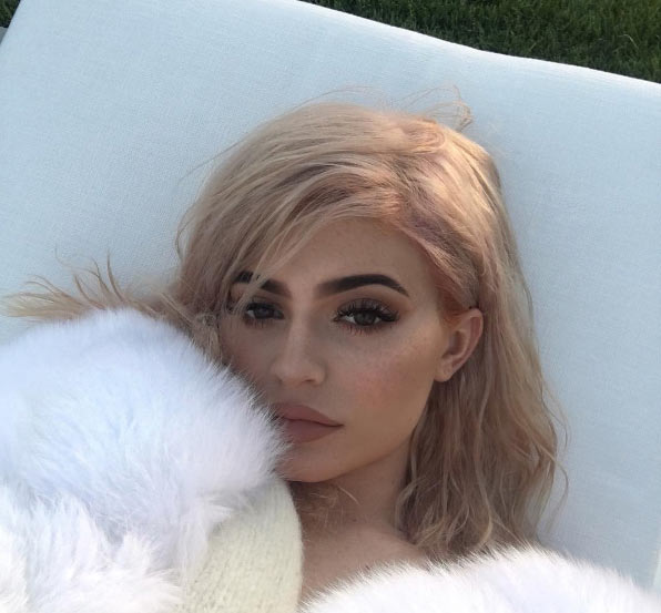 Aww! Kylie Jenner lovely in close-up photos