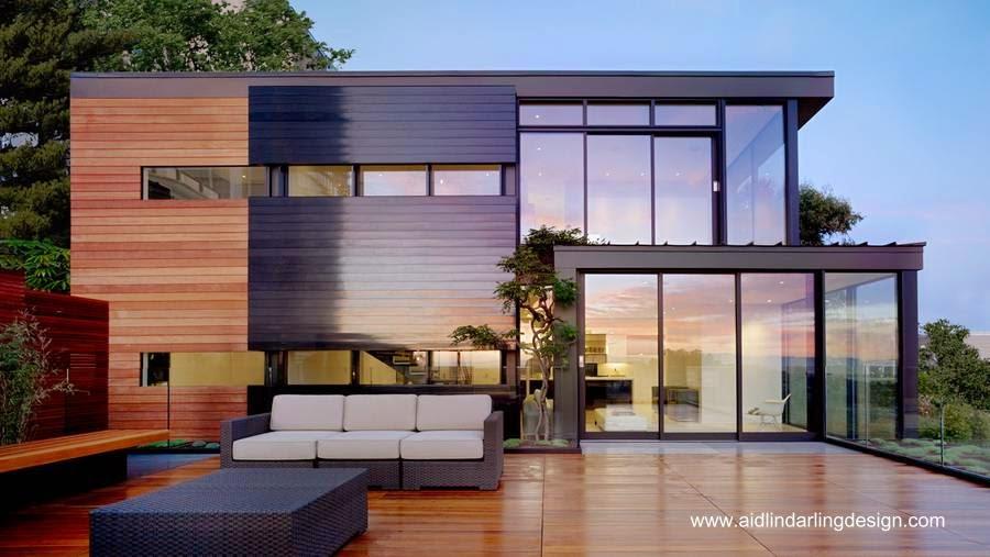 Arquitectura de casas casas modernas de estilo contempor neo for Casas modernas con interiores contemporaneos