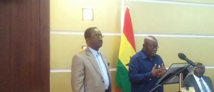 Akufo Addo announces Ministers
