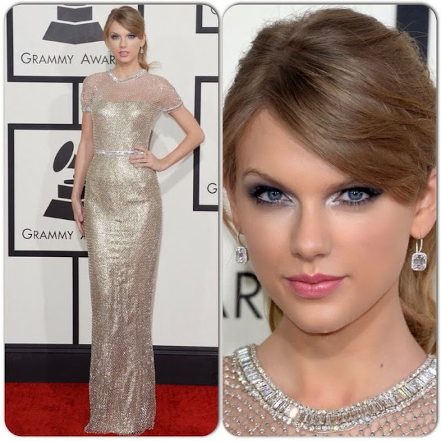Taylor Swift in Gucci – 2014 Grammy Awards