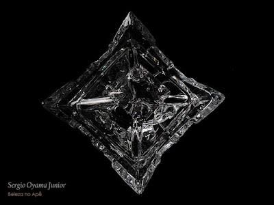 Bombonière em cristal de chumbo