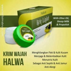 Cream Wajah Herbal Halwa di Surabaya