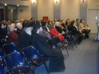 Ομιλία του ιερομον. Λουκά Αγιορείτη στη Σχολή Γονέων στο Αγρίνιο