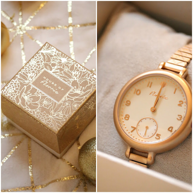 House Of Florrie Rose Gold Watch