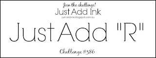 Jo's Stamping Spot - Just Add Ink #386