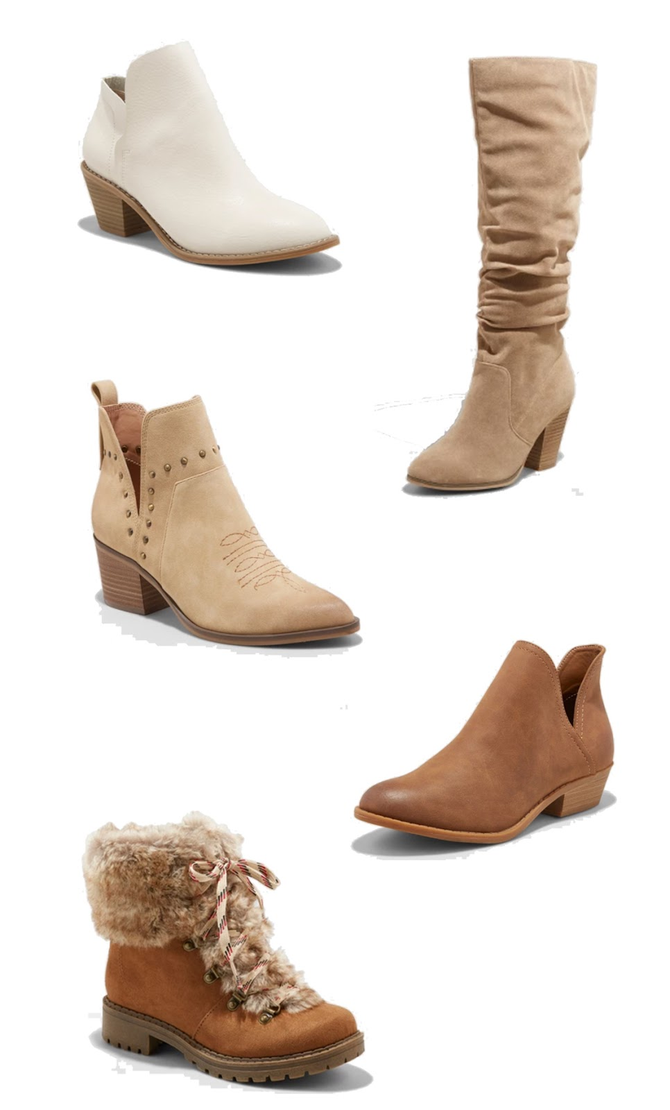 Best Booties and Boots for Fall Under $50
