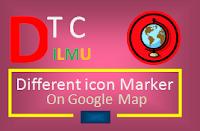 Multiple Marker Pada Google Maps Dengan Icon Yang Berbeda