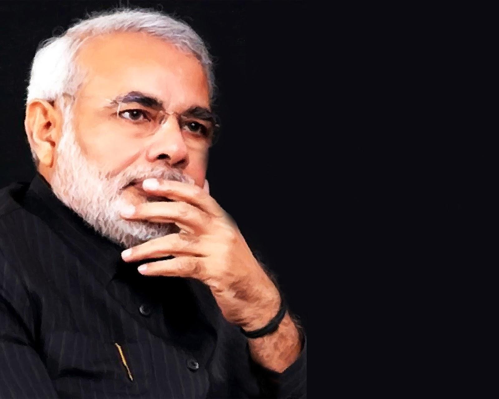 World First: Narendra Modi New Pic