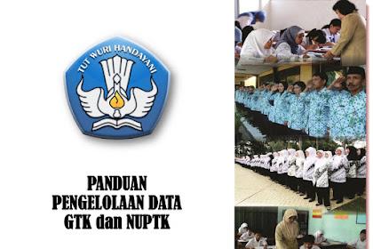 Panduan Pengelolaan data GTK dan NUPTK