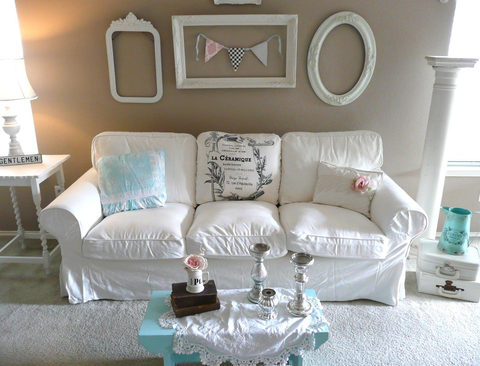 pottery barn basic sofa craigslist mattress topper bed rose garden romantic