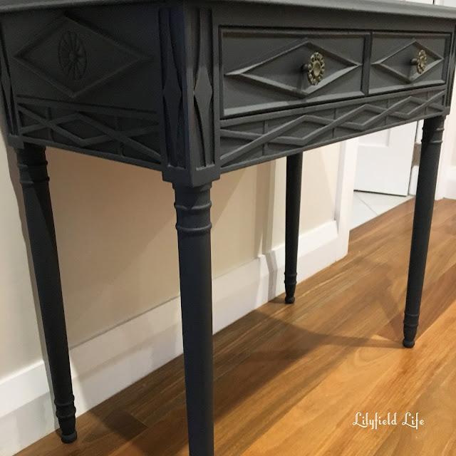 vintage oak desk. Lilyfield life