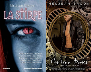 confronto copertina la stirpe - the iron duke