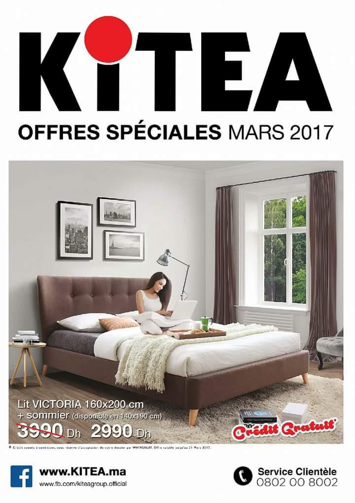 Promotion kitea maroc mars 2017 lecatalogue 100 for Mobilia 2017 maroc