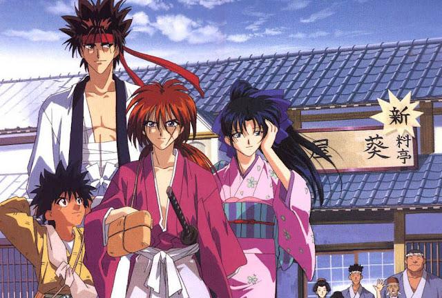 Bohaterowie Rurouni Kenshin